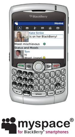 Blackberry MySpace