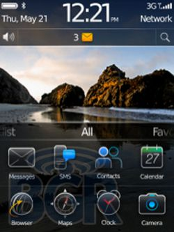 Blackberry OS 6