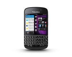 BlackBerry Q10 face