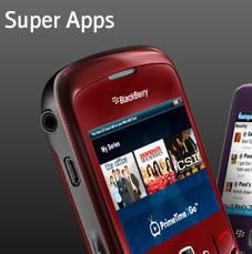 Blackberry Super Apps logo pro