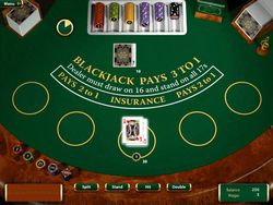 Blackjack Club screen 2
