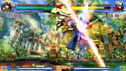 BlazBlue Continuum Shift 2 - PSP - 21