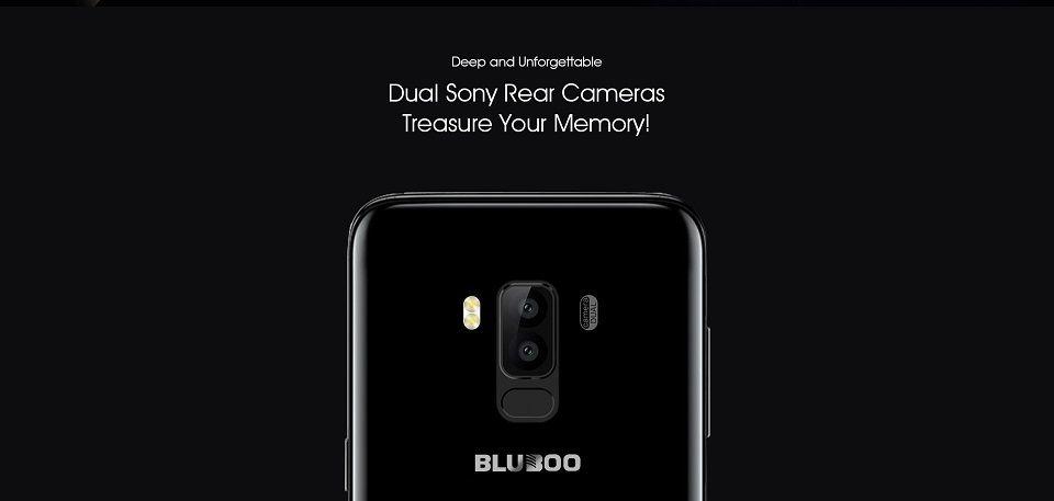 Bluboo S8 double capteur