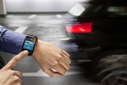 BMW Assist smartwatch