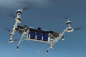 boeing un drone capable de transporter une charge de 225 kg. Black Bedroom Furniture Sets. Home Design Ideas