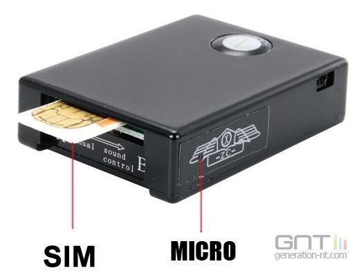 Boîtier espion GSM