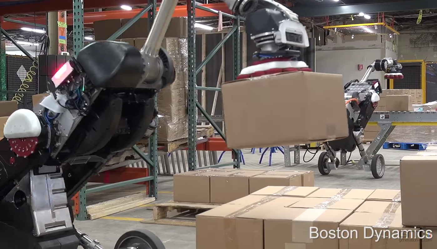 Boston Dynamics : le robot Handle repensé pour la manutention