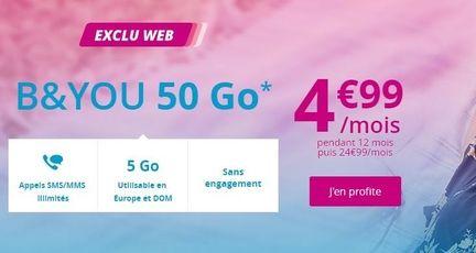 Bouygues B&You vente privée