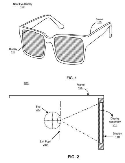 brevet facebook réalité virtuelle.