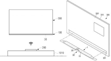 Brevet Samsung écran sans fil