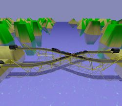 Bridge Construction Set screen 2