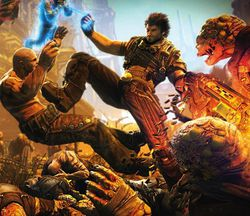 Bulletstorm - artwork