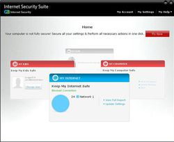 CA Internet Security Suite Plus v7 screen 2