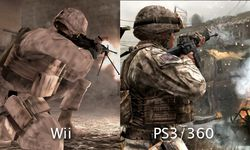 Call of Duty : Modern Warfare Reflex - comparatif 1