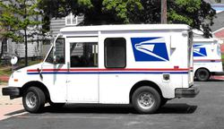 Camion USPS