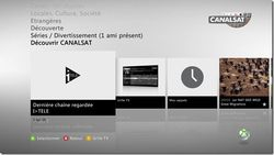 CanalSat Xbox live