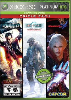 Capcom - Platinum Hits Triple Pack - pochette