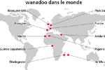 Carte Wanadoo monde