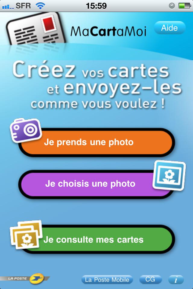 MaCartaMoi : envoi de cartes postales personnalisées