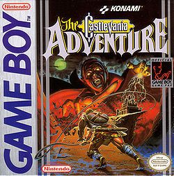 Castlevania : The Adventure - pochette