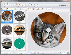CD&DVD Label Maker screen1