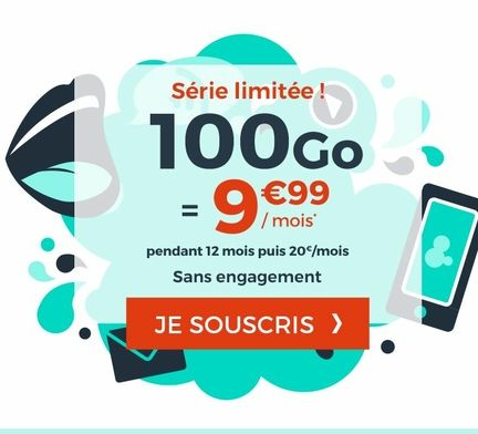 cdiscount mobile 100 Go forfait mobile