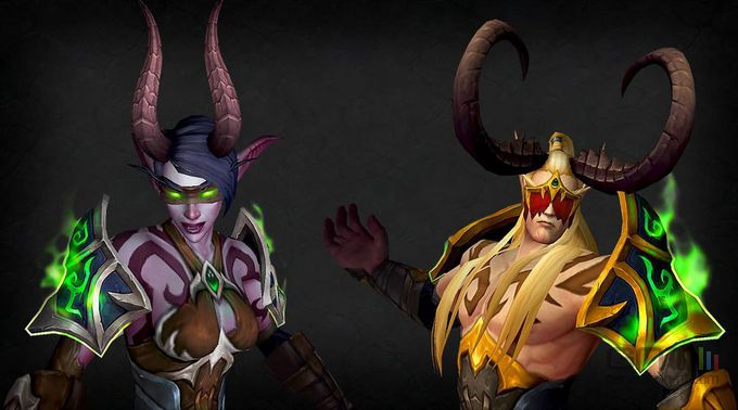 chasseur démon WOW Legion
