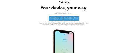 Chimera iOS jailbreak