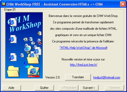 CHM WorkShop