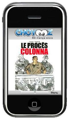 Choyooz proces Colonna iPhone