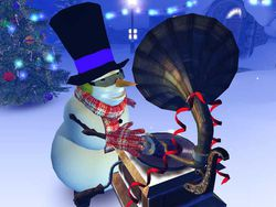Christmas 3D screen 1