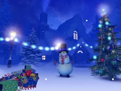 Christmas 3D screen 2
