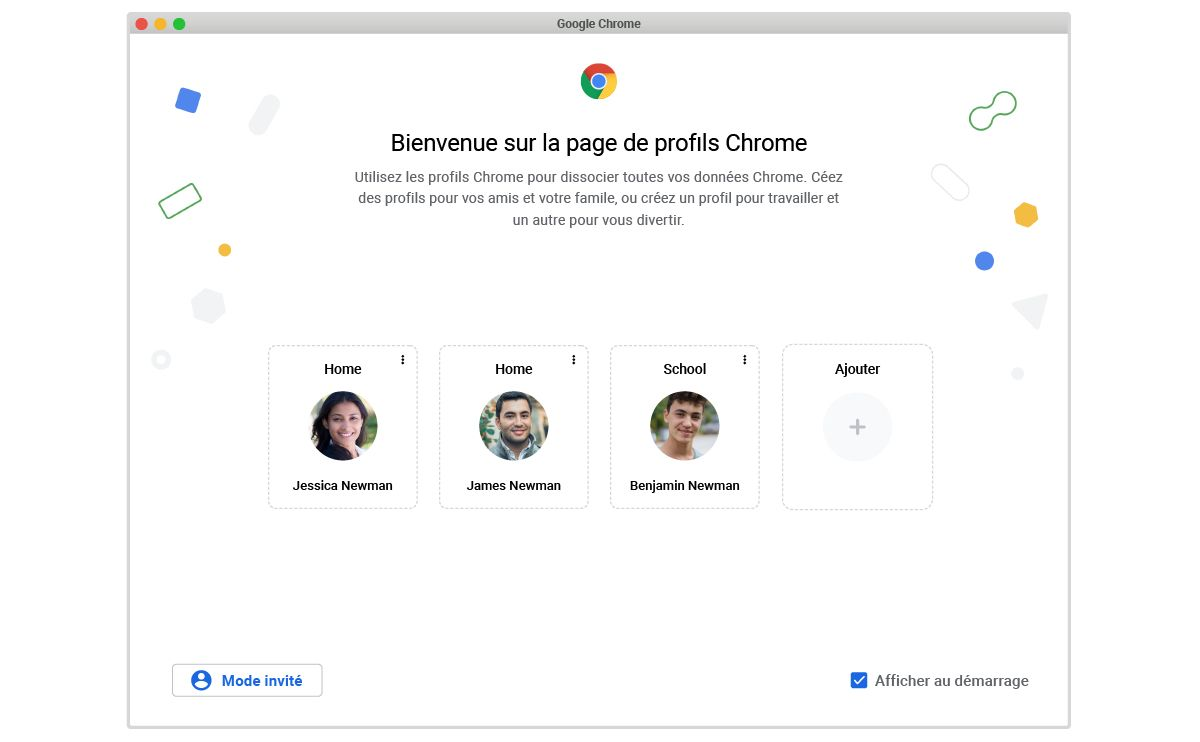 chrome-gestion-profils