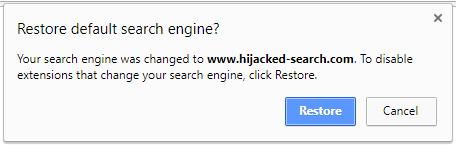 Chrome-modification-moteur-recherche-par-extension