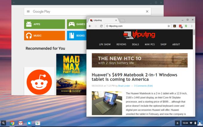 Chrome OS : l'instant tethering d'Android bientôt disponible