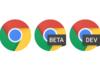 Google Chrome: version stable et préversions en exécution simultanée