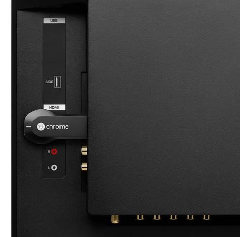 Chromecast-branchement
