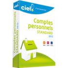 Ciel Comptes Personnels Standard 2012 : la gestion du budget familliale
