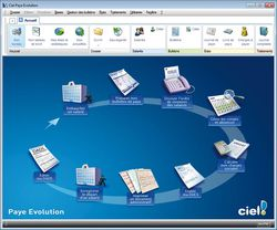 Ciel Paye Evolution 2013 screen1