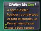 Gadget Citation à la con