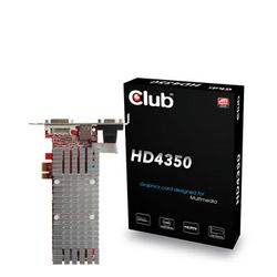 Club3D Radeon HD 4350 PCI-Express 1x