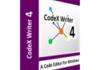 CodeX Writer : développer et créer à volonté avec un pack multilingue