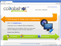 Collabshot screen 2