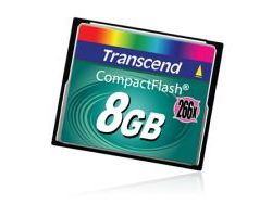 Compact Flash Transcend 8 Go Ultra Speed (Small)
