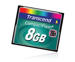 Compact Flash Transcend 8 Go Ultra Speed
