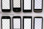 comparaison ecrans tactiles capacitifs