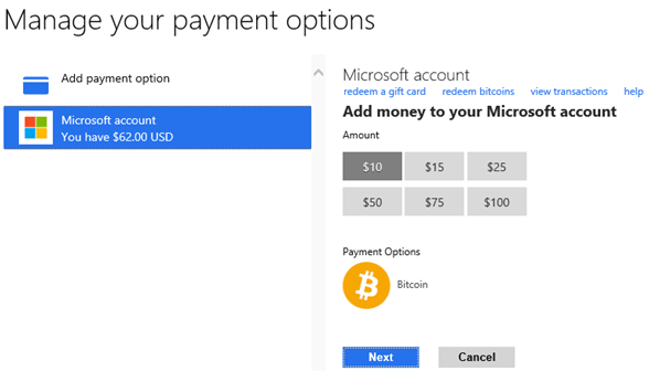 Compte-Microsoft-Bitcoin