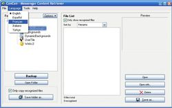 ConCon Messenger Content Retriever screen2
