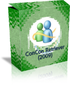 ConCon Messenger Content Retriever : sauvegarder ou effectuer un backup de Windows Live Messenger