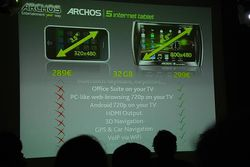 conference Archos Android 19